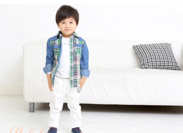 quần kaki bé trai thời trang