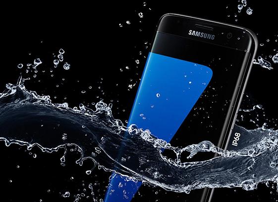 Galaxy S7 Edge đạt chuẩn chống thấm nước IP 68 theo thống kê mới nhất.