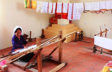 Trung tâm trưng bày văn hóa Chăm Bình Thuận